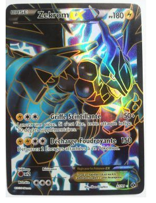Carte pokemon zekrom ex - Carte pokemon legendaire ex ...