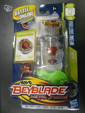 Toupie beyblade metal fusion legend inferno sagitario - Toupie beyblade sagittario ...